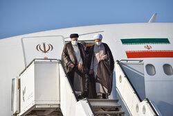 صدر ابراہیم رئيسی صوبائی دورے پر شیراز پہنچ گئے