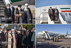 صدر ابراہیم رئيسی صوبہ فارس کے صدر مقام شیراز پہنچ گئے