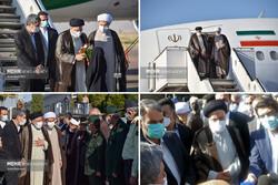 فارس میزبان هفتمین سفر دولت/ رئیسی به زیارت حرم شاهچراغ(ع) رفت/ تأکید بر خودکفایی در تولید کاغذ