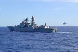 آغاز مانور نظامی مشترک روسیه و چین در دریای ژاپن