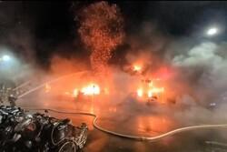 ۸۷ کشته و زخمی در پی وقوع آتش سوزی در یک ساختمان تایوانی