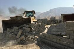 ۱۶ هزار متر مربع از اراضی ملی در شهرستان کنگان رفع تصرف شد