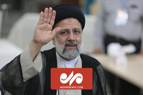 حضور سرزده رئیس جمهور در حافظیه شیراز