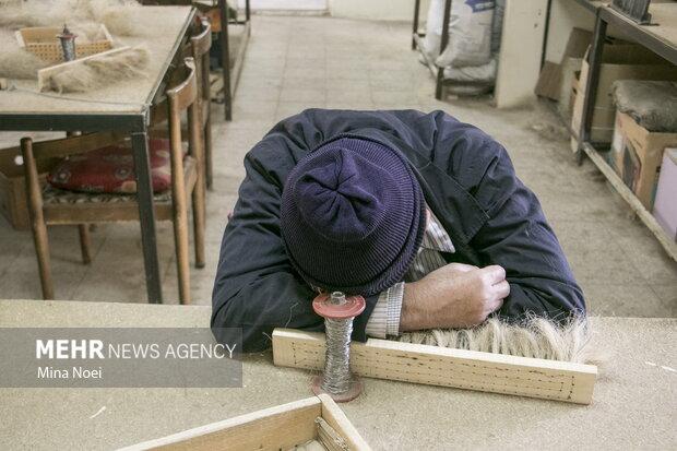 کارگاه نابینایان مجمع خیریه تبریز