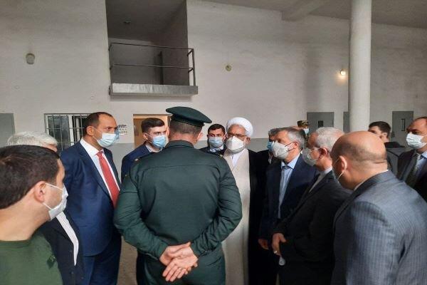 Attorney-General of Iran visits Armavir Prison of Armenia