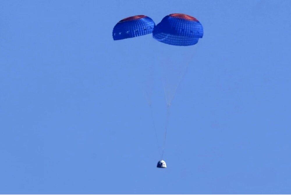 کپسول بلواوریجین سالمندترین فرد را به فضا برد