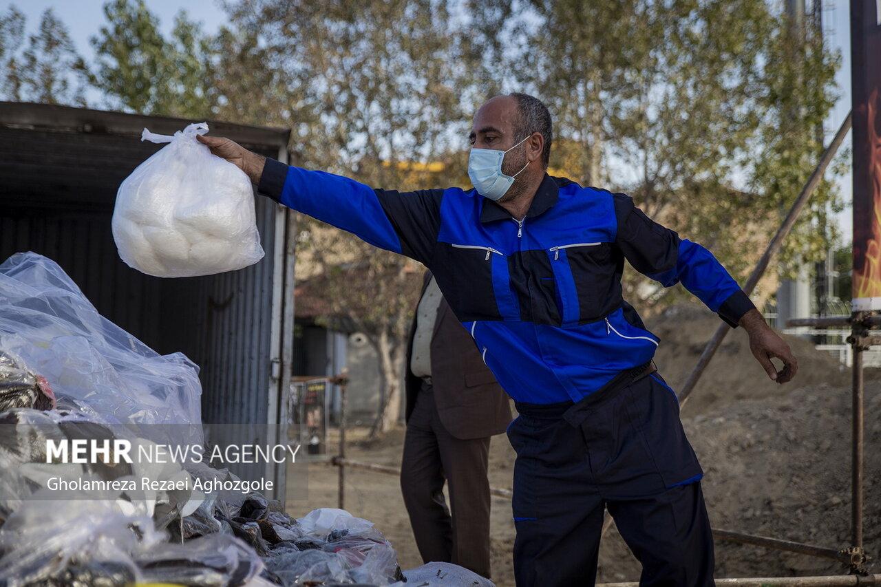 امحا ۱۴۰۰ کیلوگرم مواد مخدر در مازندران