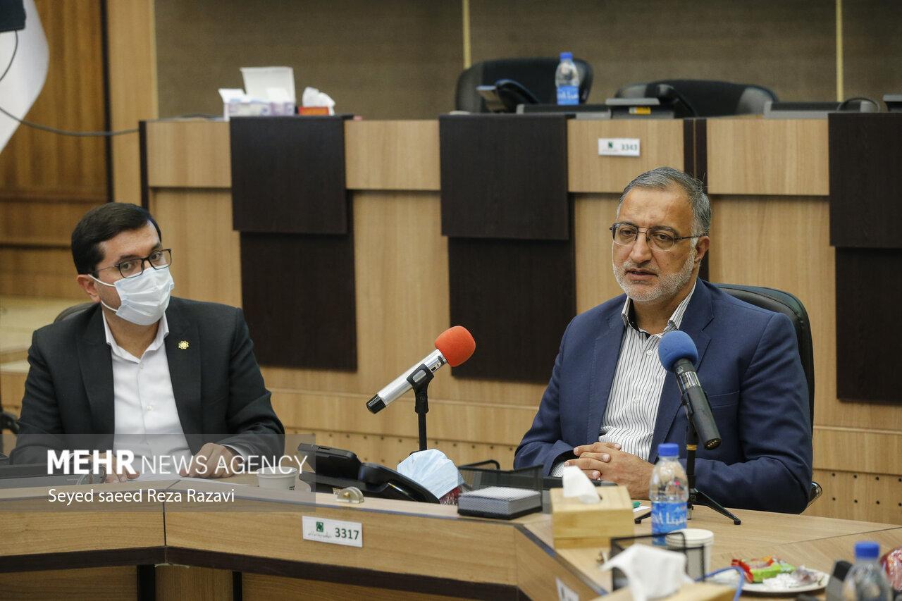 مراسم افتتاح فاز دوم پویش جهادی واکسیناسیون شهروندان تهرانی