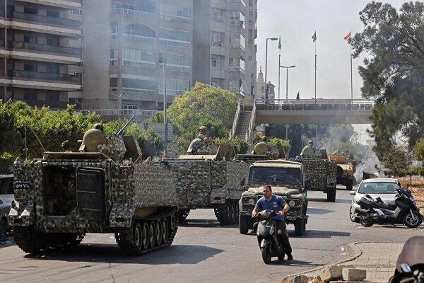 آرامش شکننده در بیروت پس از  چند ساعت درگیری های شدید