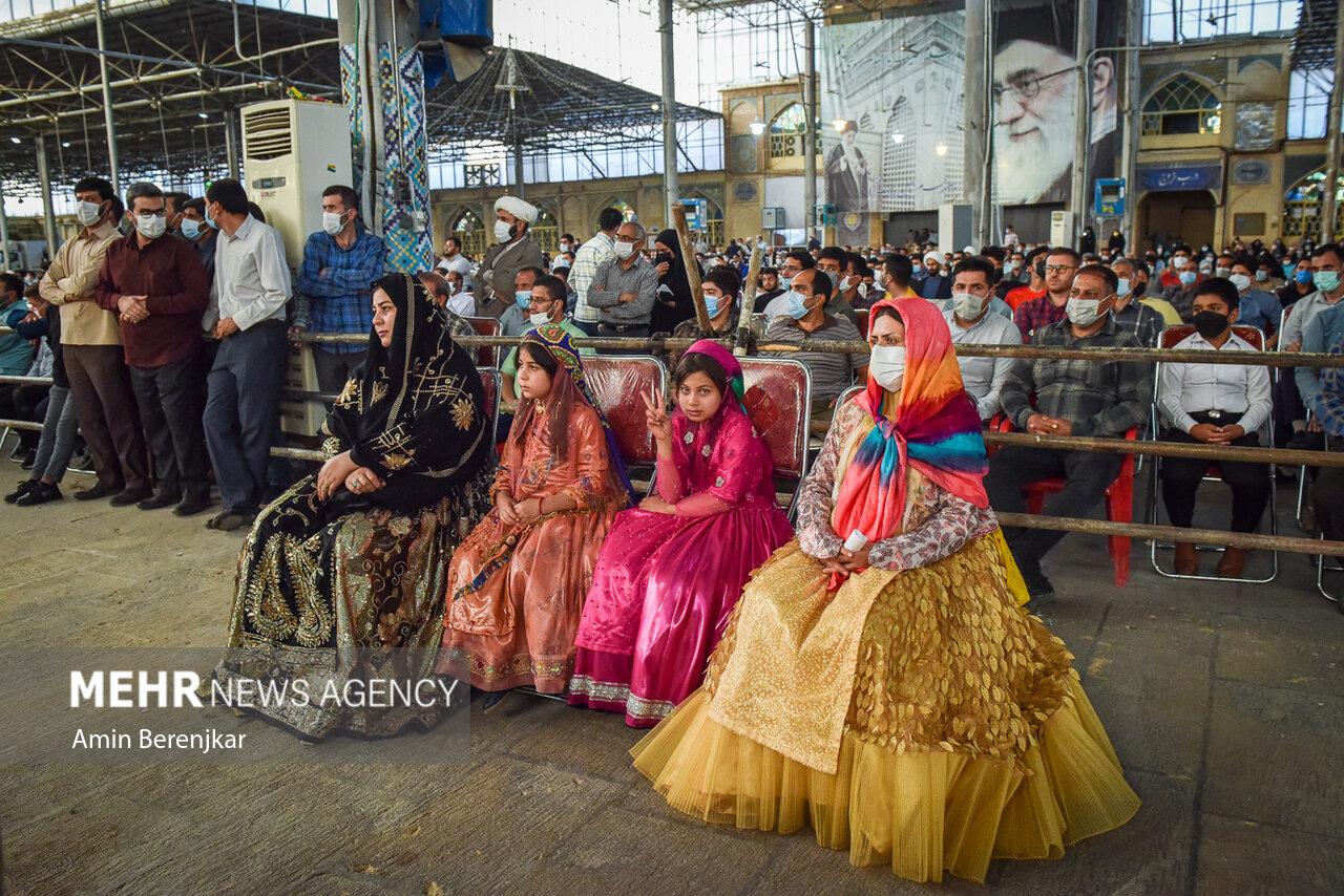 دیدار رئیس جمهور با اقشار مختلف مردم در شیراز