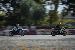 راند اول مسابقات موتور ریس آقایان و بانوان