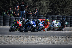 1st round of motorcycle racing competitions