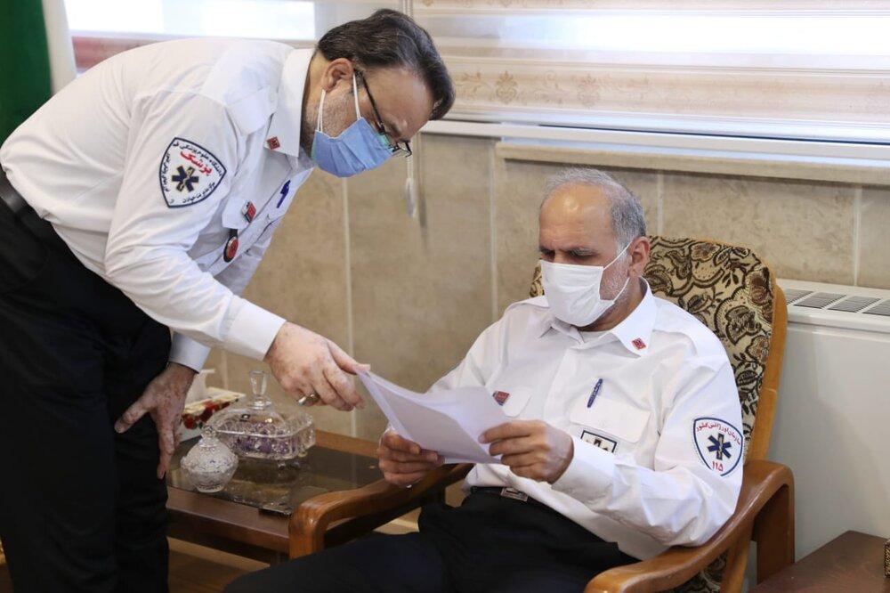 تامین آمبولانس برای پایگاه های اورژانس/قول رئیس جدید اورژانس