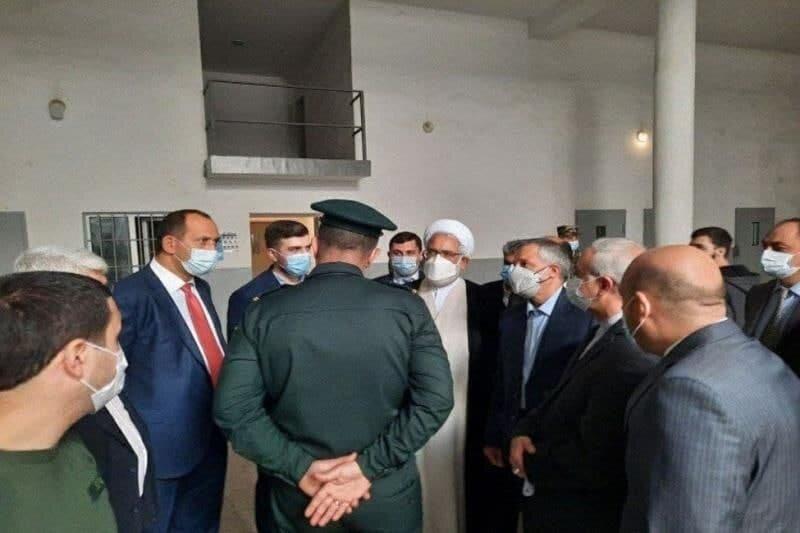 بازدید دادستان کل کشور از زندان آرماویر ارمنستان