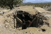 خسارت زلزله در روستای «کتک»