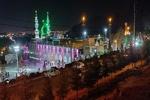 کرمان کے گلزار شہداء میں امام زمانہ (عج) کی امامت کے آغاز کی مناسبت سے تقریب منعقد