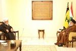 السيد حسن نصر الله يلتقي الامين العام للمجمع العالمي لاهل البيت