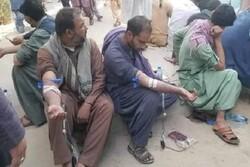 حضور جوانان اهل سنت برای اهدای خون به زخمیان شیعه حمله قندهار