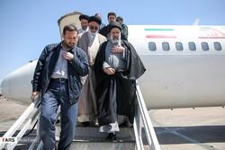 الرئيس الايراني يتوجه الى محافظة اردبيل