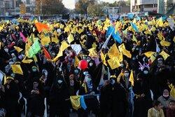 Pledging allegiance to Imam Mahdi (AS) ceremony in Mashhad