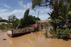 ۱۸ کشته در پی جاری شدن سیل و رانش زمین در جنوب هند
