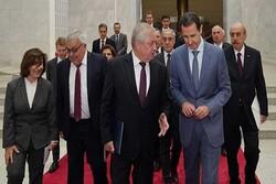 الرئيس السوري يبحث مجالات التعاون القائمة بين البلدين