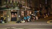 خیابانهای پر از زباله در انگلستان