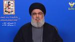 Hezbollah always wanted peace, security in Lebanon: Nasrallah