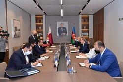 Azerbaycan ve Katar dışişleri bakanları görüştü