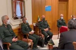 سرلشکر باقری با مدیران نهادهای ایرانی در روسیه دیدار کرد