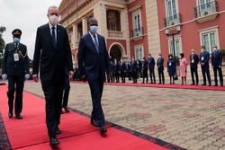 Erdoğan Angola'da resmi törenle karşılandı