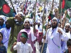 بنگلہ دیش کے ایک مندر میں قرآن کی بے حرمتی پر ملک گیر احتجاجی مظاہرے
