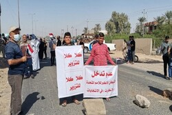 العراقيون يرفعون شعارات ضد امريكيا واسرائيل / هناك ايدي خارجية في نتائج الانتخابات