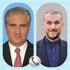 گفتگوی تلفنی وزرای خارجه ایران و پاکستان