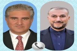 İran ve Pakistan dışişleri bakanları telefonda görüştü