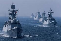 عبور همزمان ۱۰ شناور چین و روسیه از تنگه ژاپن