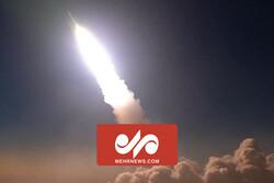 انهدام اهداف متخاصم توسط سامانههای پدافند هوایی سپاه