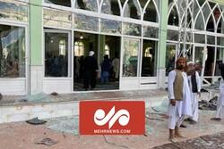 مقطع جديد من لحظة الاعتداء الإرهابي على المسجد الشيعي في قندهار/ بالفيديو