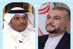 گفتگوی «امیرعبداللهیان» با همتای قطری/ رایزنی درباره تحولات منطقه