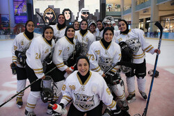 Iran women's ice hockey team win Russia in Dubai tournament