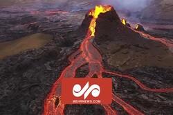 بحران شدید در آتشفشان لاپالما اسپانیا