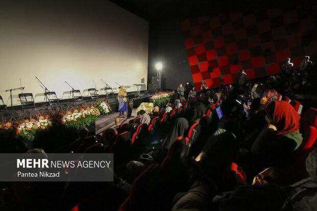 مراسم افتتاحیه سیوهشتمین جشنواره بینالمللی فیلم کوتاه تهران