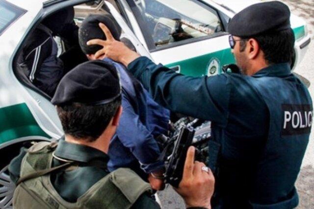 عامل شهادت سرگرد «مهدی آزمون» در شوش دستگیر شد
