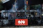 انفجار در مسیر حرکت اتوبوس نظامیان سوری