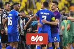 درگیری فیزیکی بازیکنان سعودی در لیگ قهرمانان آسیا
