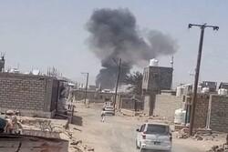 اليمن ... انفجار كبير يهزّ مدينة مأرب شمال شرق اليمن