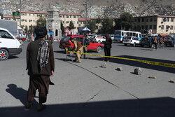 کابل میں آج صبح ہونے والے بم دھماکے کا مقام