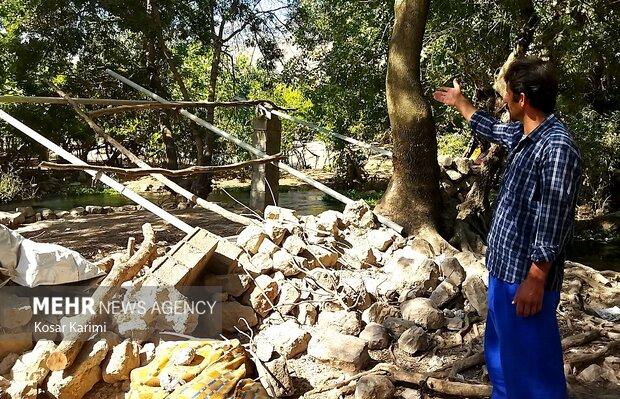 بخش زلزله زده « سوسن سرخاب» اندیکا
