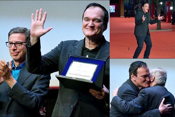 تارانتینو از داریو آرجنتو جایزه گرفت/فیلم بعدی وسترن اسپاگتی است؟
