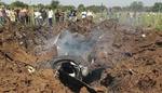 بھارتی فضائیہ کا تربیتی طیارہ گر کر تباہ/ پائلٹ زخمی